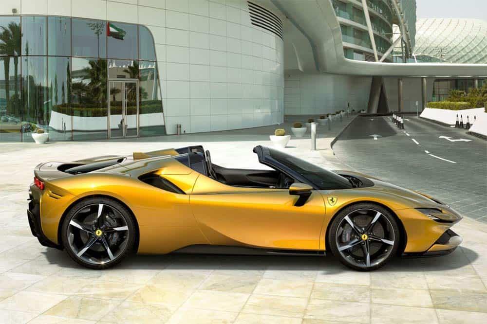 Ferrari Elektrosportwagen kommt 2025
